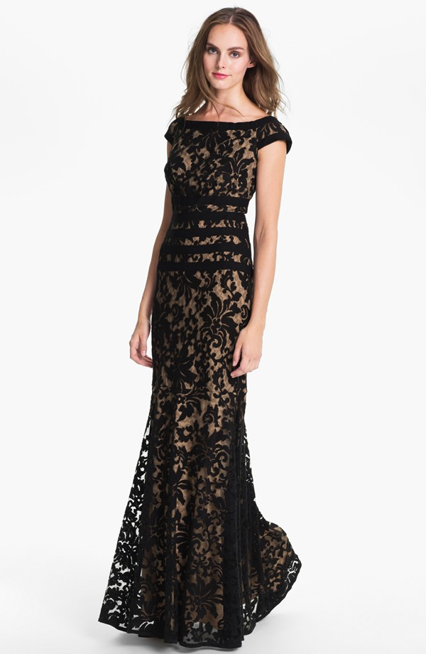 Black Tie Dresses For Wedding
