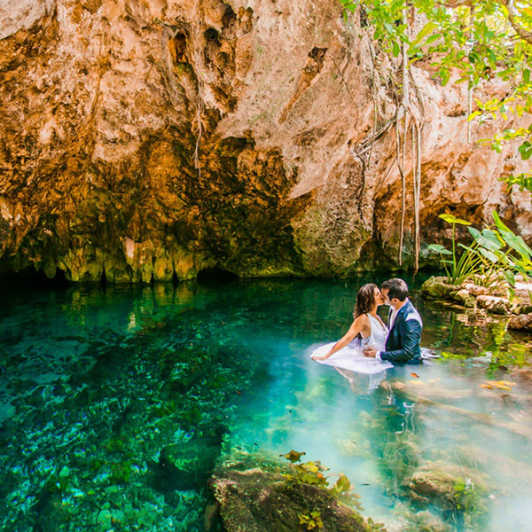 Mexico Wedding Inspiration-Trash the dress-allabouthedetails.com