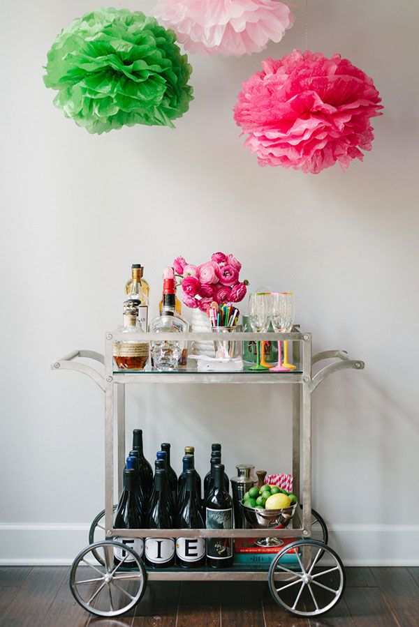 Bar Cart Restyle- allaboutthedetails.com - barcart style
