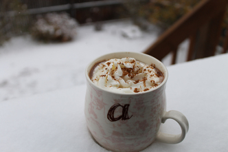 Thirsty Thursday-Spiked Pumpkin Hot Chocolate-allaboutthedetails.com-3-