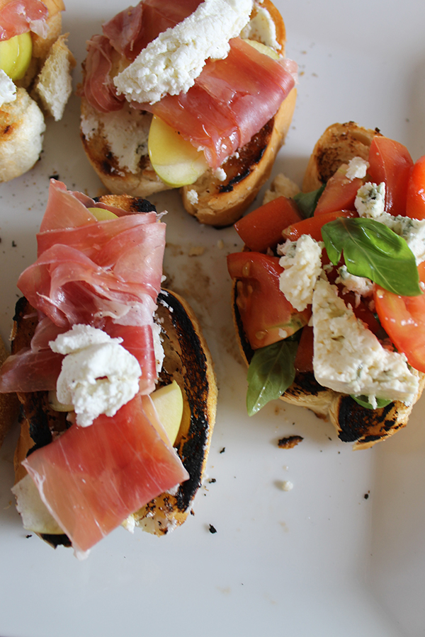 allaboutthedetails.com Five Minute Appetizers - Two Crostini Recipes -3-