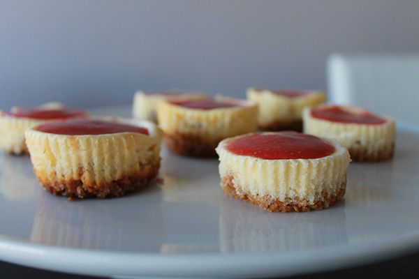 { Recipe } Mini Strawberry Cheese Cake -allaboutthedetails.com-4