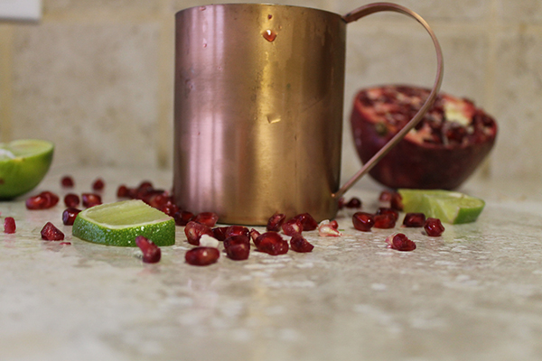 {Thirsty Thursday } Pomegranate Moscow Mule-3-