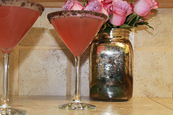 Thirsty Thursday- Thin Mint Strawberry Martini-2