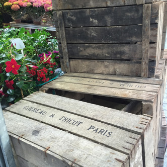 Paris Crates All About The Details