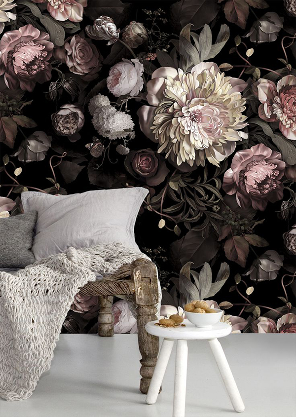 {Home Decor } Wallpaper accent walls _ allaboutthedetails_6